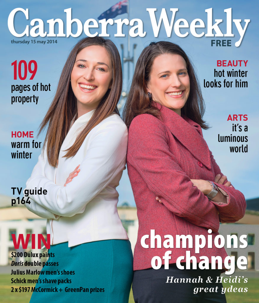 Credit: Stephen Corey and Canberra Weekly Magazine